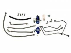Sinister Diesel - Sinister Diesel Regulated Fuel Return Kit for Ford Powerstroke 6.0L