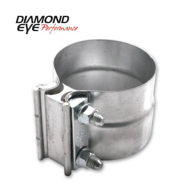 Diamond Eye Performance - Diamond Eye Performance PERFORMANCE DIESEL EXHAUST PART-2in. ALUMINIZED TORCA LAP-JOINT CLAMP L20AA