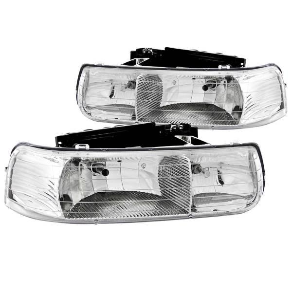 ANZO USA - ANZO USA Crystal Headlight Set 111011