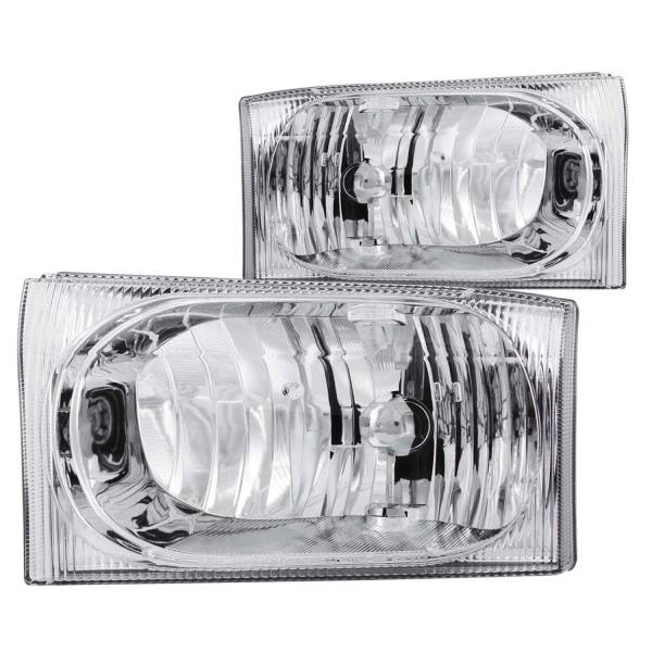 ANZO USA - ANZO USA Crystal Headlight Set 111023