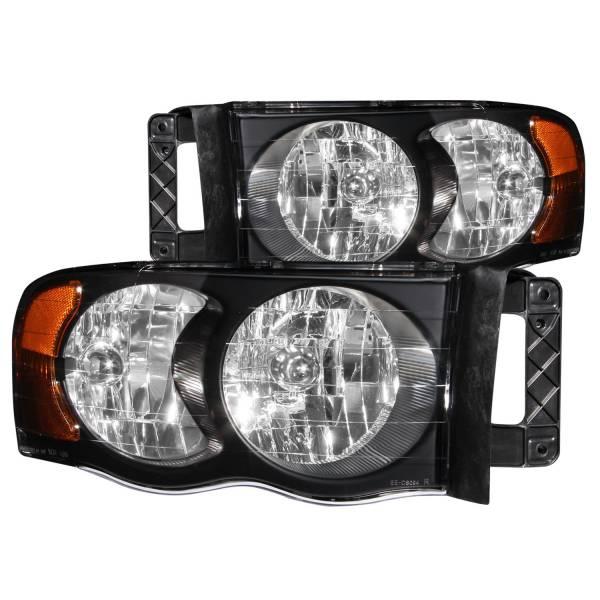 ANZO USA - ANZO USA Crystal Headlight Set 111022