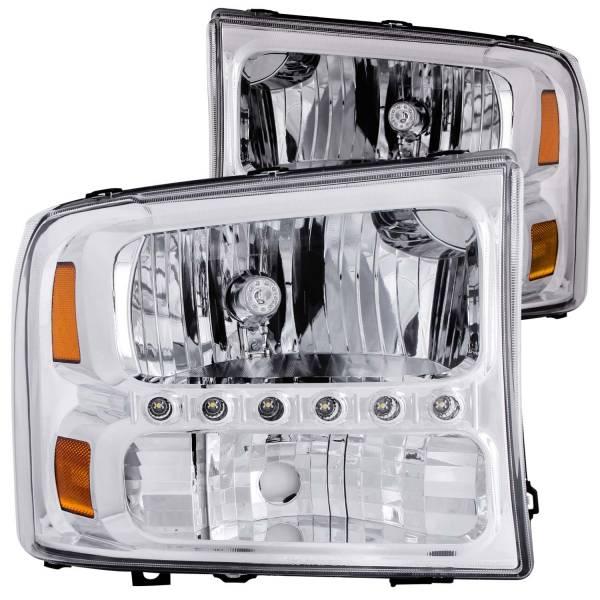 ANZO USA - ANZO USA Crystal Headlight Set 111088