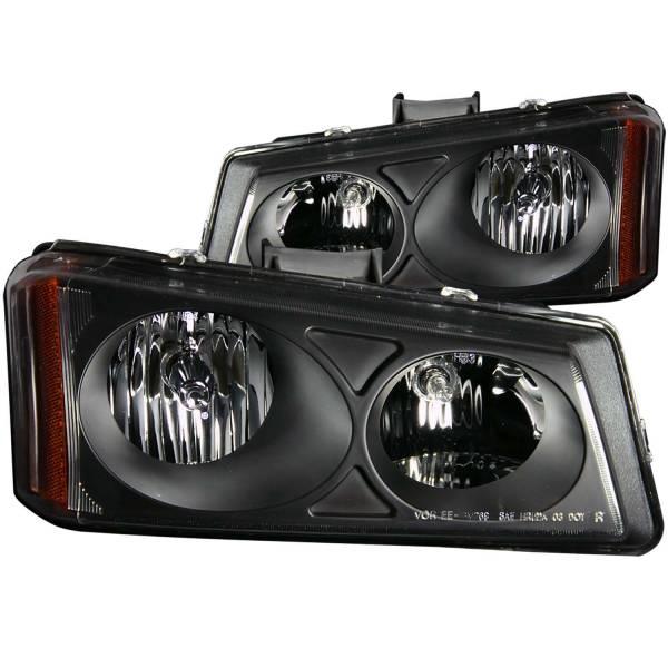 ANZO USA - ANZO USA Crystal Headlight Set 111009