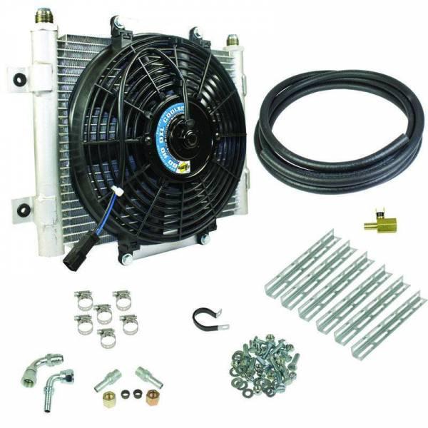 BD Diesel - BD Diesel Xtruded Trans Oil Cooler - 1/2 inch Cooler Lines 1030606-1/2