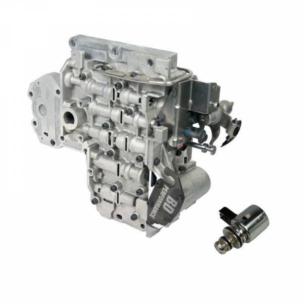 BD Diesel - BD Diesel Valve Body - 1996-1998 Dodge 12-valve 47RE c/w Governor Pressure Solenoid 1030416E