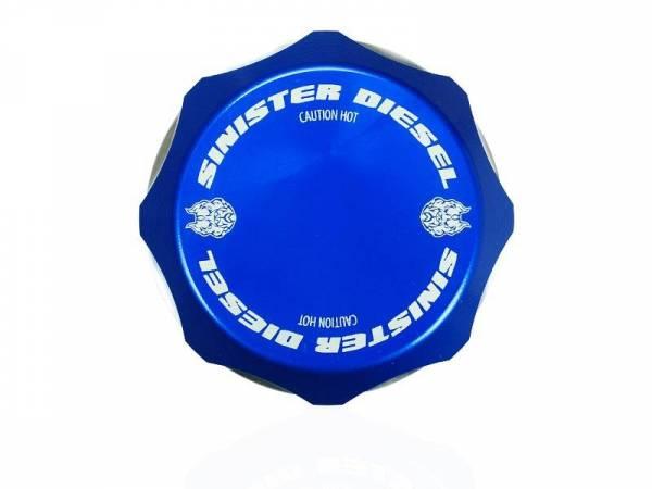 Sinister Diesel - Sinister Diesel Degas Bottle Cap for 2017-Current Powerstroke 6.7L