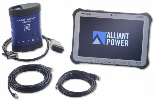 Alliant Power - Alliant Power AP0105 Diagnostic Tool Kit CF-54 - GM