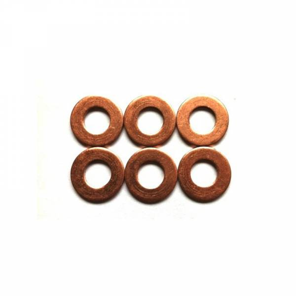 Industrial Injection - Thin copper washer for 12 Valve Cummins Injectors .5MM