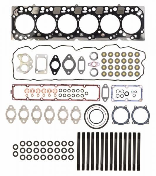 TrackTech Fasteners - Complete Top End Cylinder Head Gasket / Studs Service Kit For 07.5-18 6.7L Cummins 24V