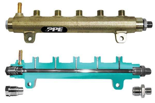 PPE Diesel - Fuel Rail High Performance GM 6.6L 04.5-05 Driver Side PPE Diesel