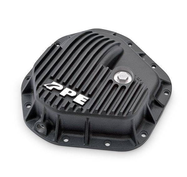 PPE Diesel - Heavy Duty Cast Aluminum Front Differential Cover Ford Dana 50/60 Early 80S To Present F250/F350 Black PPE Diesel