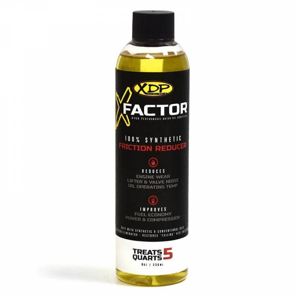 XDP Xtreme Diesel Performance - High Performance Oil Additive Diesel Engines 8 Oz. Bottle Treats 5 Quarts X-Factor XD275 XDP