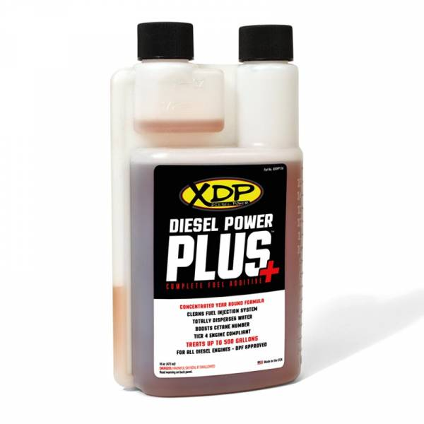 XDP Xtreme Diesel Performance - Diesel Power Plus Fuel Additive All Diesel Engines 16 Oz. Bottle Treats 500 Gallons XDDPP116 XDP