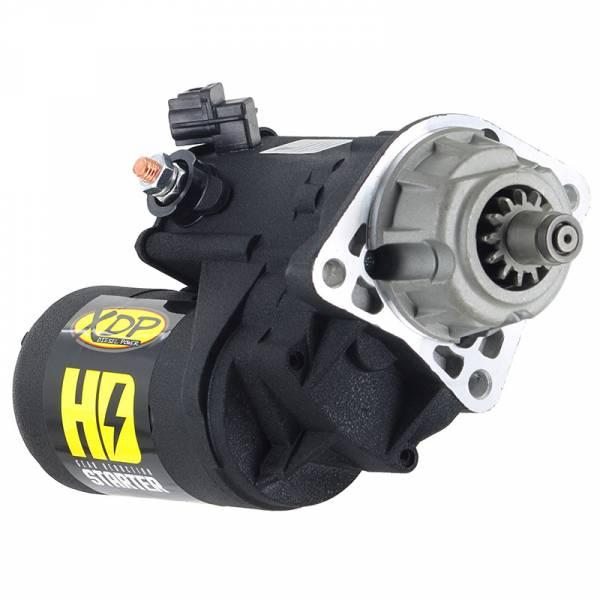 XDP Xtreme Diesel Performance - Gear Reduction Starter 03-06 Dodge 5.9L Cummins Wrinkle Black XD258 XDP