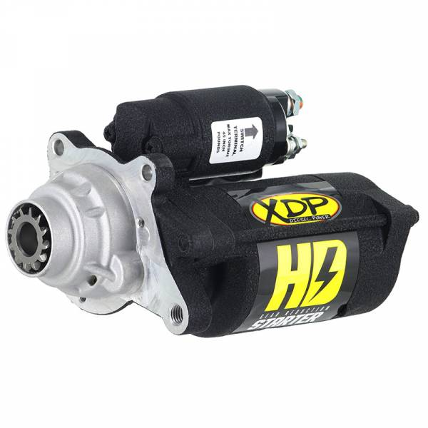 XDP Xtreme Diesel Performance - Gear Reduction Starter 08-10 Ford 6.4L Powerstroke Wrinkle Black XD256 XDP