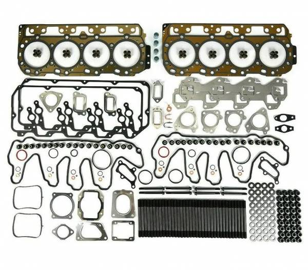 TrackTech Fasteners - TrackTech Cylinder Head Gasket Set With Head Studs 11-16 LML Duramax
