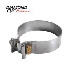 "Exhaust - Exhaust Parts - Diamond Eye Performance - Diamond Eye Performance, 3.5""  TORCA BAND CLAMP - ALUMINIZED - BC350A"