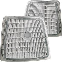 Lighting - Headlights & Marker Lights - ANZO USA - ANZO USA Side Marker Light Assembly 92-98 Ford F-series - Clear - 511049