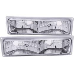 1982-2000 GM 6.2L & 6.5L Non-Duramax - GM 6.2L & 6.5L Lighting - ANZO USA - ANZO USA Parking Light Assembly 511032