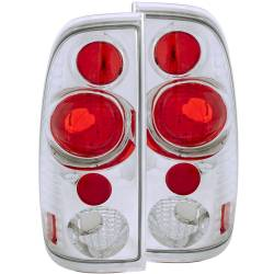 Lighting Ford for Ford Powerstoke 6.0L - Brake & Tail Lights - ANZO USA - ANZO USA Tail Light Assembly 1999-2007 Ford Super Duty - 211063