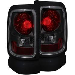 Lighting - Brake & Tail Lights - ANZO USA - ANZO USA Tail Light Assembly 211170