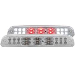 Lighting - Brake & Tail Lights - ANZO USA - ANZO Third Brake Light 99-16 Ford Superduty - Clear - 531076