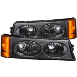6.6L LMM Lighting - Headlights & Marker Lights - ANZO USA - ANZO USA Parking Light Assembly 511036