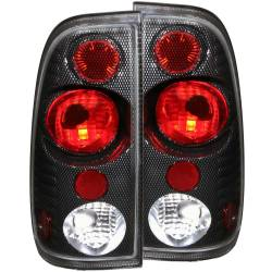 Lighting Ford for Ford Powerstoke 6.0L - Brake & Tail Lights - ANZO USA - ANZO USA Tail Light Assembly 211064