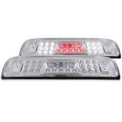 Lighting - Brake & Tail Lights - ANZO USA - ANZO Third Brake Light 15-19 Chevy GMC 2500/3500 - Clear - 531098