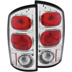Lighting - Brake & Tail Lights - ANZO USA - ANZO USA Tail Light Assembly 03-06 Ram 2500/3500 - 211043