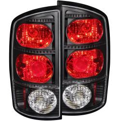 Lighting - Brake & Tail Lights - ANZO USA - ANZO USA Tail Light Assembly 03-06 Ram 2500/3500 - 211045