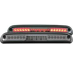 Lighting - Brake & Tail Lights - ANZO USA - ANZO Third Brake Light 99-16 Ford Superduty - Light Smoke - 531050
