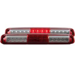 6.6L LMM Lighting - Brake & Tail Lights - ANZO USA - ANZO Third Brake Light 99-07 Chevy GMC 2500/3500 - Red - 531029