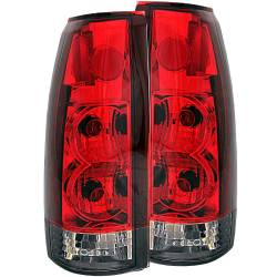 1982-2000 GM 6.2L & 6.5L Non-Duramax - GM 6.2L & 6.5L Lighting - ANZO USA - ANZO USA Tail Light Assembly 211157