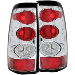 6.6L LMM Lighting - Brake & Tail Lights - ANZO USA - ANZO USA Tail Light Assembly 03-07 Chevy GMC 2500 - 211020