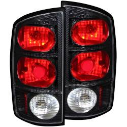 Lighting - Brake & Tail Lights - ANZO USA - ANZO USA Tail Light Assembly 03-06 Ram 2500/3500 - 211044