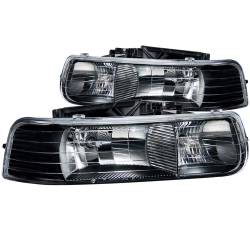 Chevy/GMC Duramax - ANZO USA - ANZO USA Crystal Headlight Set 111155