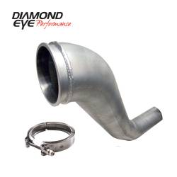 Turbo Chargers & Components - Down Pipes - Diamond Eye Performance - Diamond Eye Performance 1994-2002 DODGE 5.9L CUMMINS 2500/3500 (ALL CAB AND BED LENGTHS)-PERFORMANCE DIE 221043