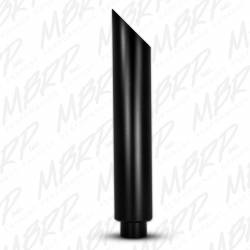 "MBRP Exhaust - MBRP Exhaust 1 pc Stack 6"" Angle Cut 36"" Black Coated"