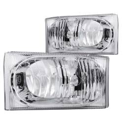 ANZO USA - ANZO USA Crystal Headlight Set 111023