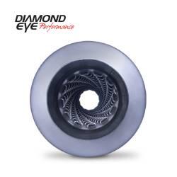 "Diamond Eye Performance - Diamond Eye Performance 5"" ALUMINIZED LOUVERED HIGH FLOW- STRAIGHT THROUGH PERFORMANCE MUFFLER - 5"" I.D. X 5"" I.D. - 460100 - Image 2"