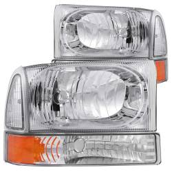 ANZO USA - ANZO USA Crystal Headlight Set 111081