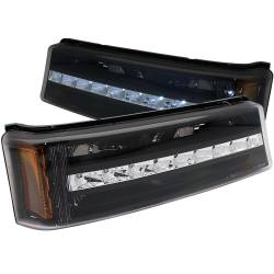 6.6L LMM Lighting - Headlights & Marker Lights - ANZO USA - ANZO USA Parking Light Assembly 511067