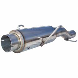 Exhaust - Mufflers - MBRP Exhaust - MBRP Exhaust High-Flow Muffler Assembly, T409