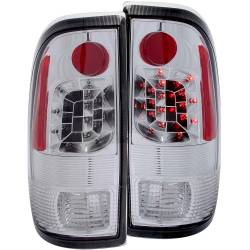Lighting Ford for Ford Powerstoke 6.0L - Brake & Tail Lights - ANZO USA - ANZO USA Tail Light Assembly 311026