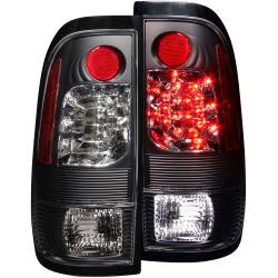 Lighting Ford for Ford Powerstoke 6.0L - Brake & Tail Lights - ANZO USA - ANZO USA Tail Light Assembly 311027