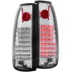 1982-2000 GM 6.2L & 6.5L Non-Duramax - GM 6.2L & 6.5L Lighting - ANZO USA - ANZO USA Tail Light Assembly CHEVY/GMC 1500 / 2500 88-98 / 3500 88-00 - 311005