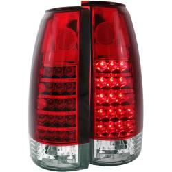 1982-2000 GM 6.2L & 6.5L Non-Duramax - Lighting - ANZO USA - ANZO USA Tail Light Assembly 311057