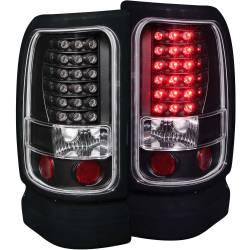 Lightingfor 2nd Gen Dodge Ram 12V - Brake & Tail Lightsfor 2nd Gen Dodge Ram 12V - ANZO USA - ANZO USA Tail Light Assembly 311073