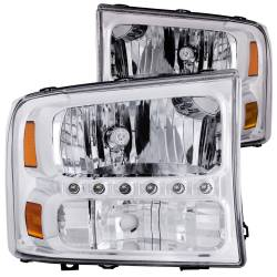 ANZO USA - ANZO USA Crystal Headlight Set 111088